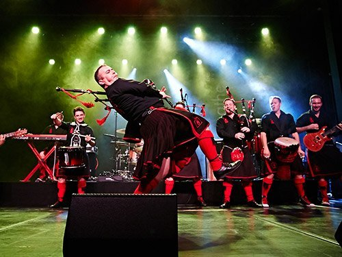 Bandbild: The Red Hot Chilli Pipers